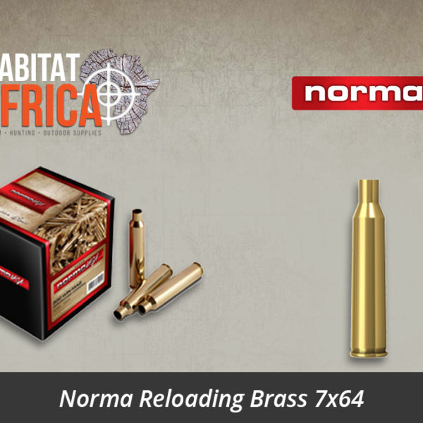 Norma Reloading Brass 7x64 Brass Cases