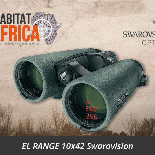 Swarovski EL RANGE 10x42 Swarovision Binoculars with Rangefinder