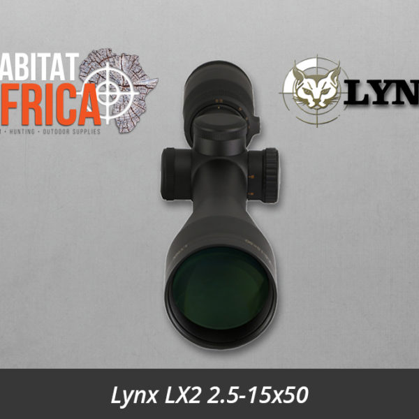 Lynx LX2 2.5-15x50 SAH Reticle Lense