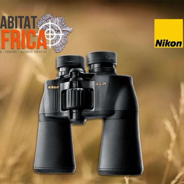 Nikon ACULON A211 10x50 Binoculars - Focus Wheel