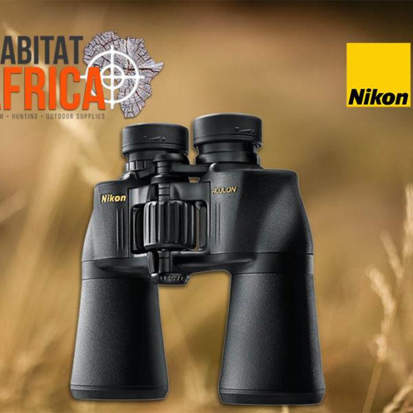 Nikon ACULON A211 16x50 Binoculars - Focus Wheel