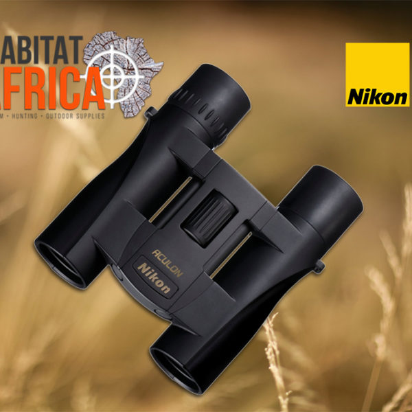 Nikon ACULON A30 8x25 Binoculars-Black-Focus Wheel