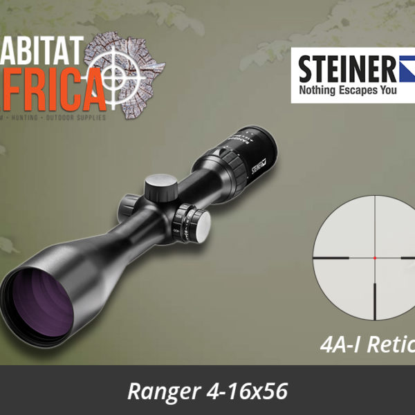 Steiner Ranger 4-16x56 Riflescope with 4A-I Reticle