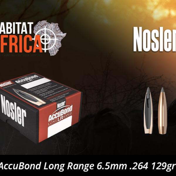 Nosler AccuBond Long Range 6.5mm .264 129gr Bullet