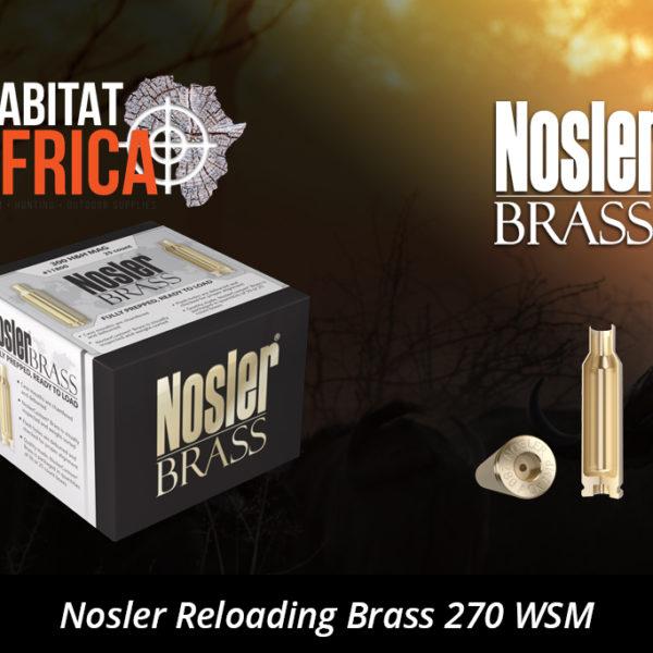 Nosler Reloading Brass 270 Winchester Short Magnum