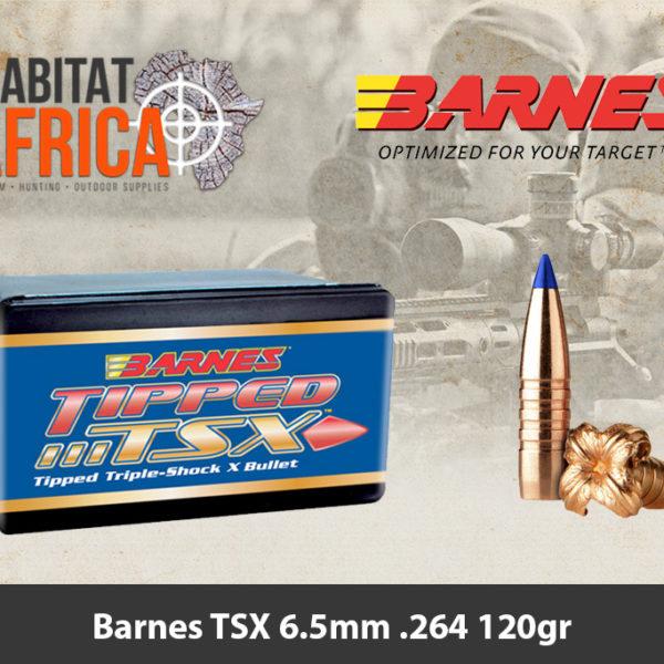 Barnes TSX 6.5mm .264 120gr Bullet
