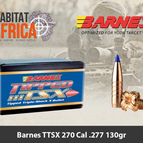 Barnes TTSX 270 Cal .277 130gr Bullet