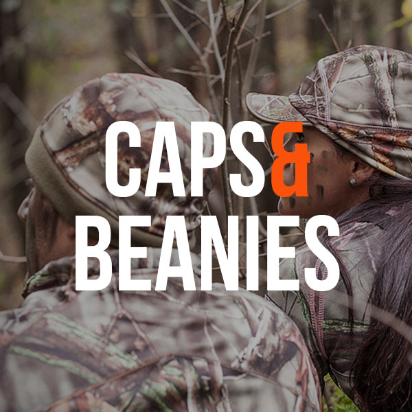Camo Hunting Caps and Camo Beanies