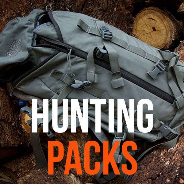 Camo Hunting Packs & Hiking Backpacks