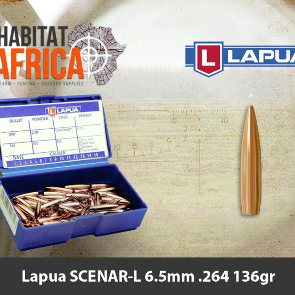 Lapua SCENAR-L 6.5mm .264 136gr Bullet