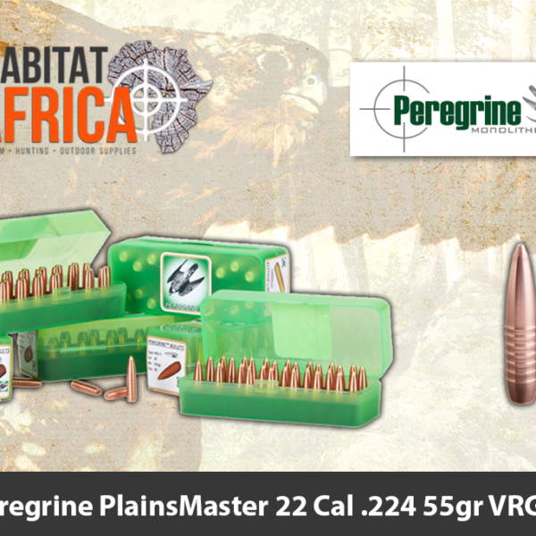 Peregrine PlainsMaster 22 Cal .224 55gr VRG-4 Bullet