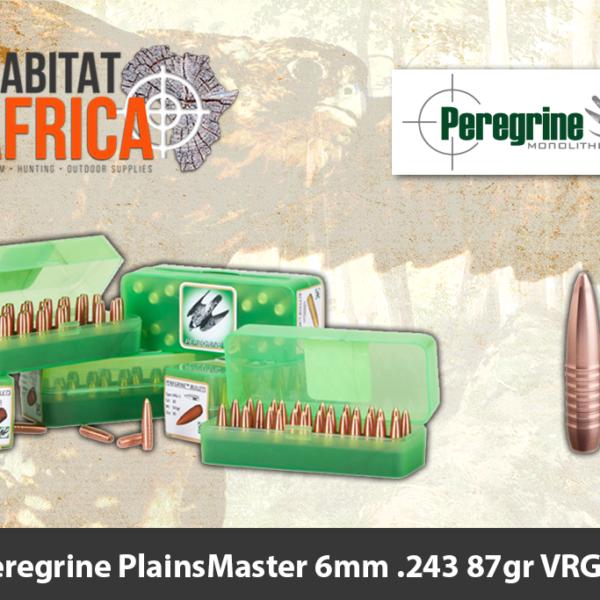 Peregrine PlainsMaster 6mm .243 87gr VRG-4 Bullet