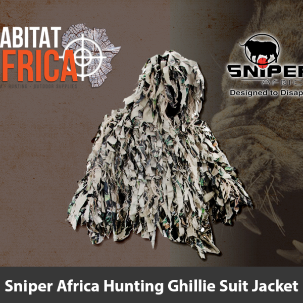 Sniper Africa Hunting Ghillie Suit Jacket