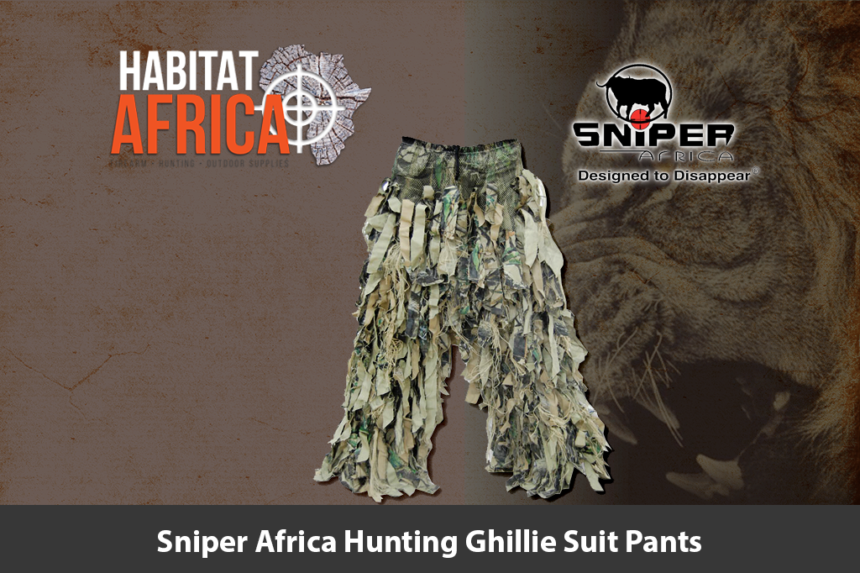 Sniper Africa Hunting Ghillie Suit Pants