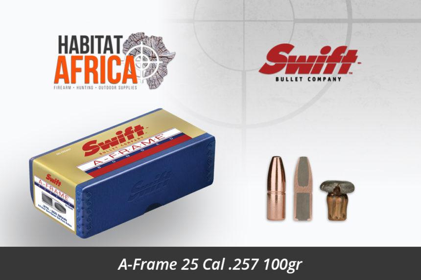 Swift A-Frame 25 Cal .257 100gr Bullet