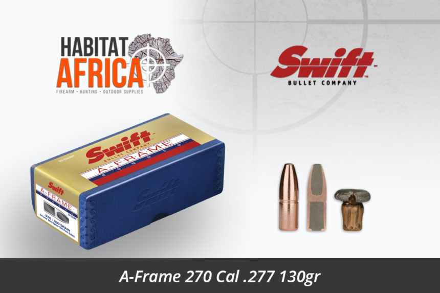 Swift A-Frame 270 Cal 277 130gr Bullet
