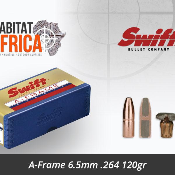 Swift A-Frame 6.5mm .264 120gr Bullet