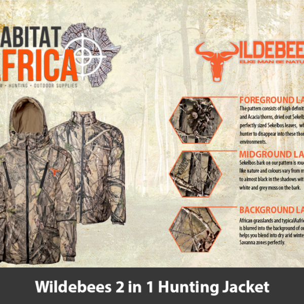 Wildebees 2 in 1 Hunting Jacket