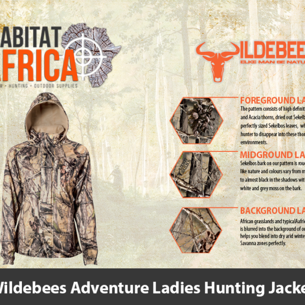 Wildebees Adventure Ladies Hunting Jacket