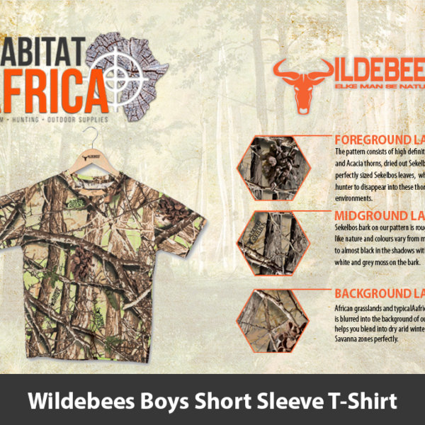 Wildebees Boys Short Sleeve T-Shirt