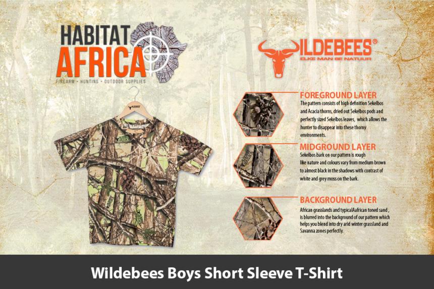 Wildebees Boys Short Sleeve T-Shirt