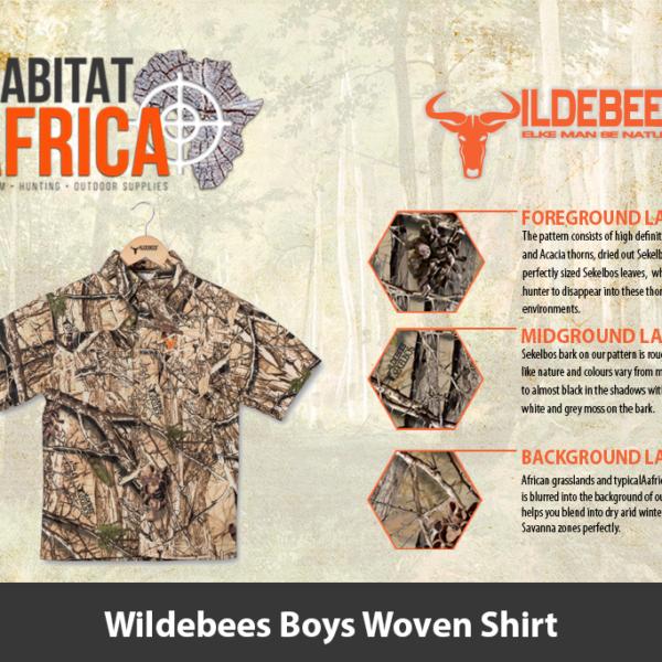 Wildebees Boys Woven Shirt