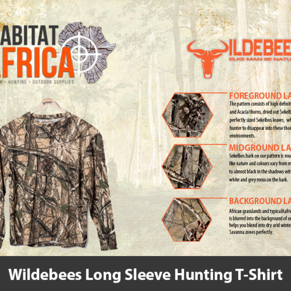 Wildebees Long Sleeve Hunting T-Shirt