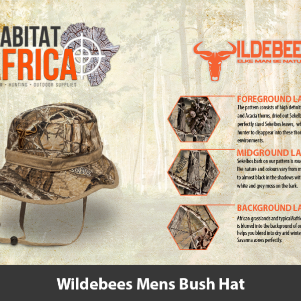 Wildebees Mens Bush Hat