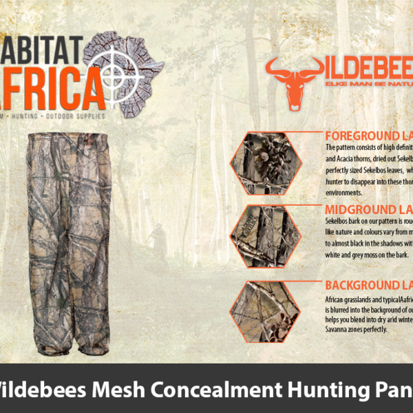 Wildebees Mesh Concealment Hunting Pants