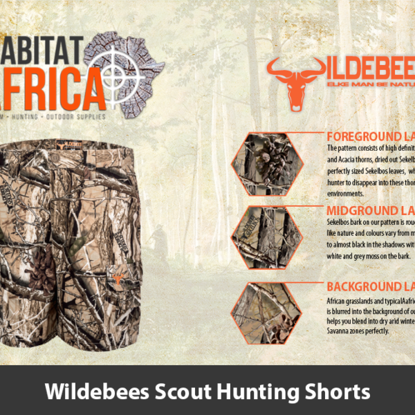 Wildebees Scout Hunting Shorts