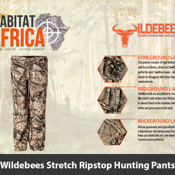 Wildebees Stretch Ripstop Hunting Pants