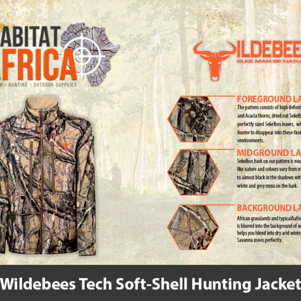 Wildebees Tech Soft Shell Hunting Jacket