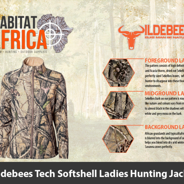 Wildebees Tech Softshell Ladies Hunting Jacket
