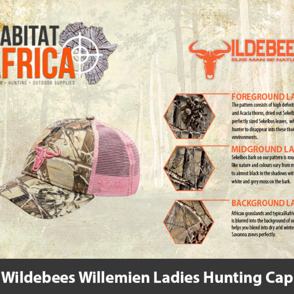 Wildebees Willemien Ladies Hunting Cap
