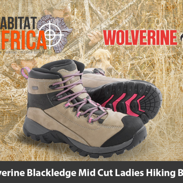 Wolverine Blackledge Mid Cut Ladies Hiking Boots
