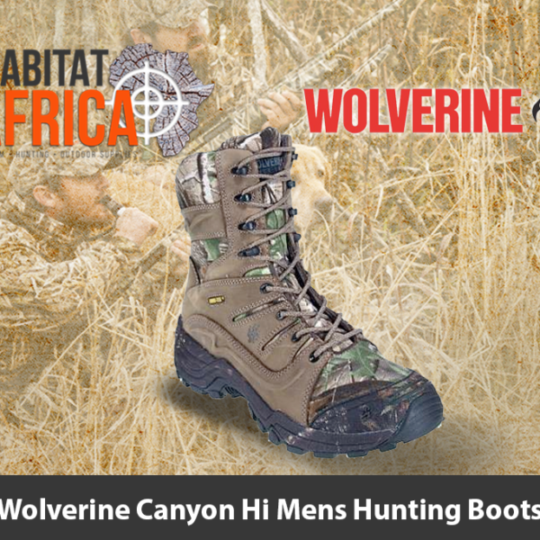 Wolverine Canyon Hi Mens Hunting Boots
