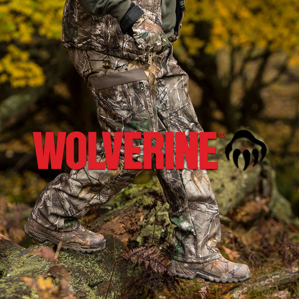 Wolverine Hunting Footwear and Hiking Boots