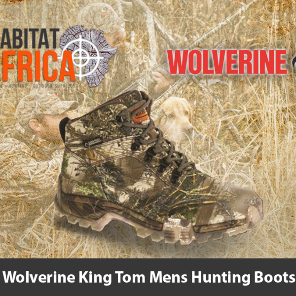 Wolverine King Tom Mens Hunting Boots
