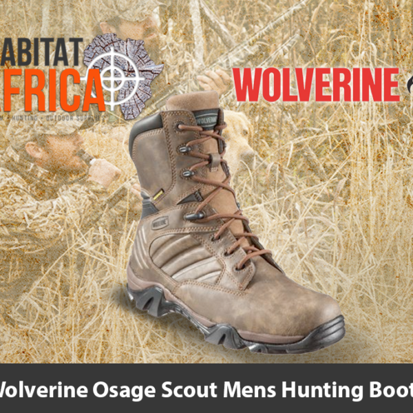 "Wolverine Osage Scout 8"" Men's Hunting Boots"