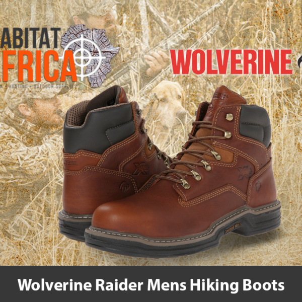 "Wolverine Raider 6"" Mens Hiking Boots"