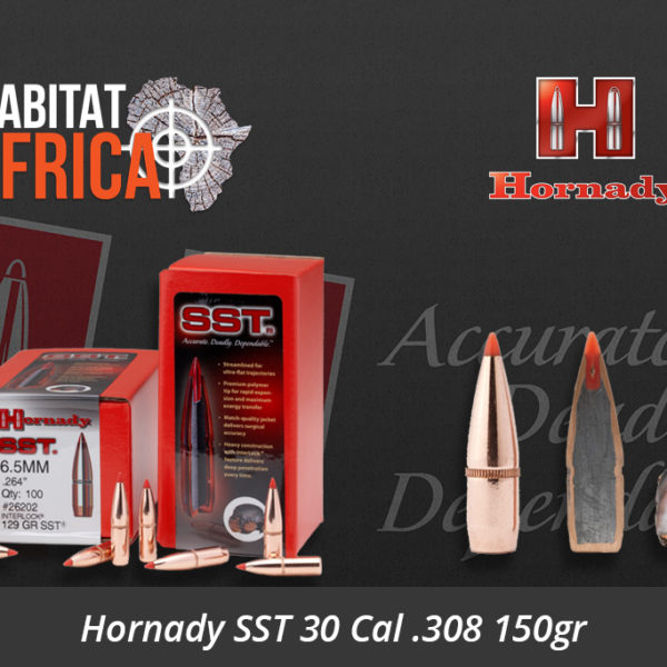 Hornady SST 30 Cal .308 150gr Bullets