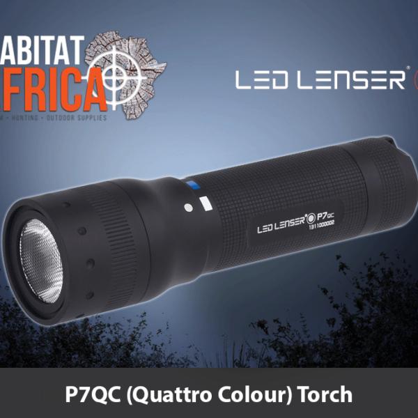 LED Lenser P7QC Quattro Colour Torch