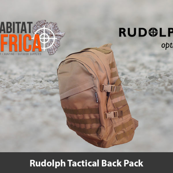 Rudolph Tactical Back Pack - Khaki|Tan