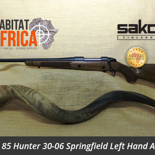 Sako 85 Hunter 30-06 Springfield Left Hand Action Hunting Rifle
