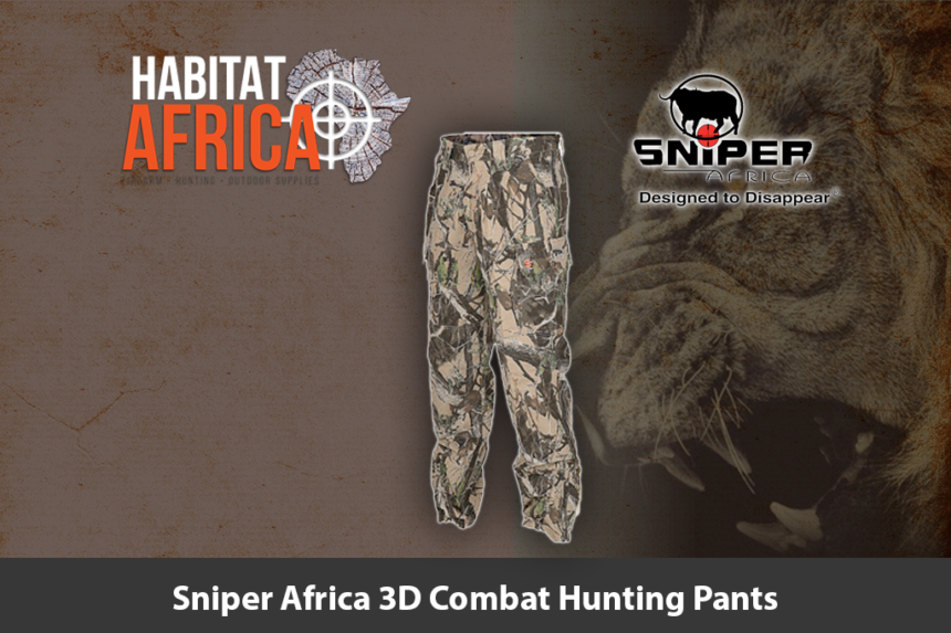 Sniper Africa 3D Combat Hunting Pants