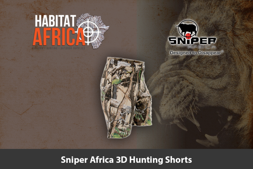 Sniper Africa 3D Hunting Shorts