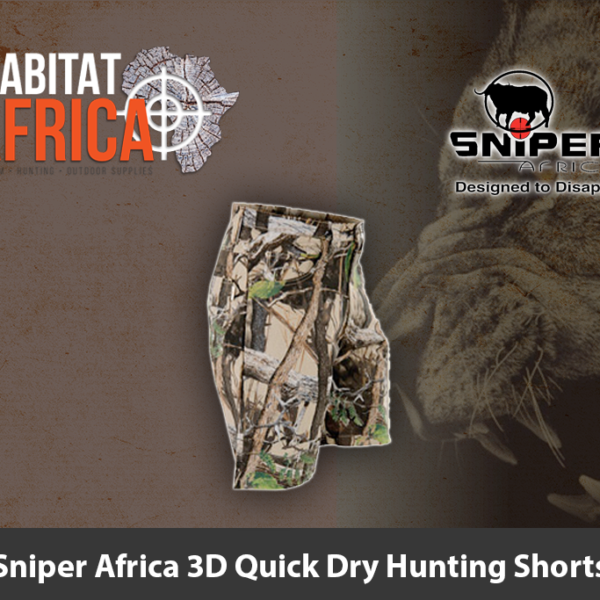 Sniper Africa 3D Quick Dry Hunting Shorts