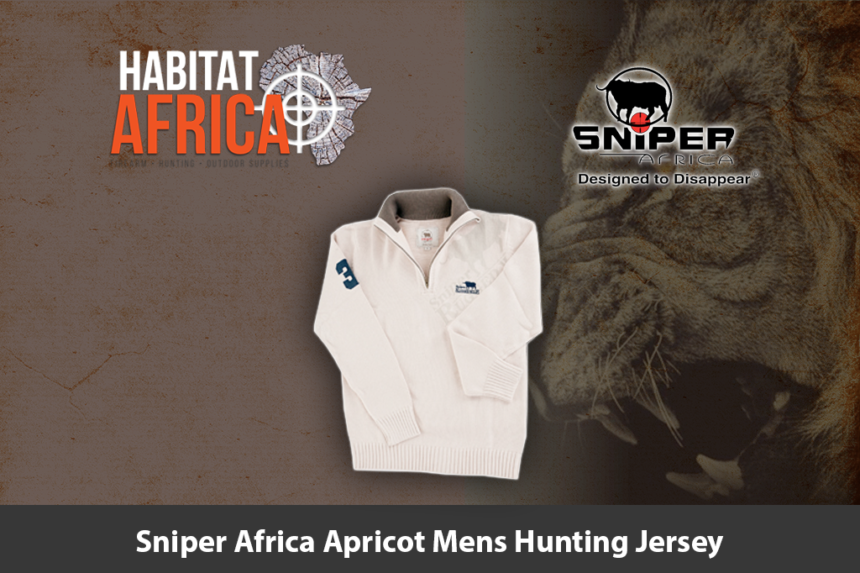 Sniper Africa Apricot Mens Hunting Jersey