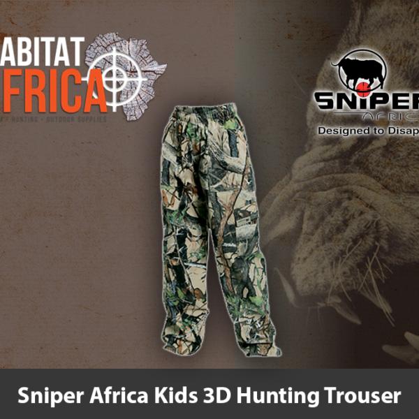 Sniper Africa Kids 3D Hunting Trouser