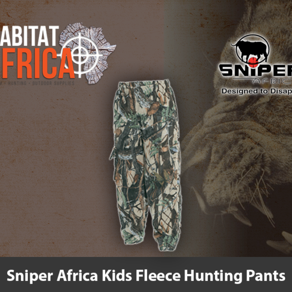 Sniper Africa Kids Fleece Hunting Pants